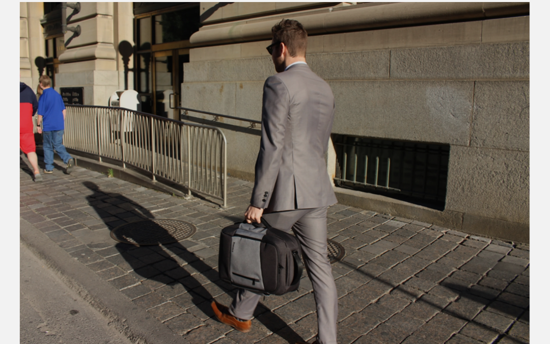 Standard's Laptop Backpack: A Stylish Transformer You Can't Live Without